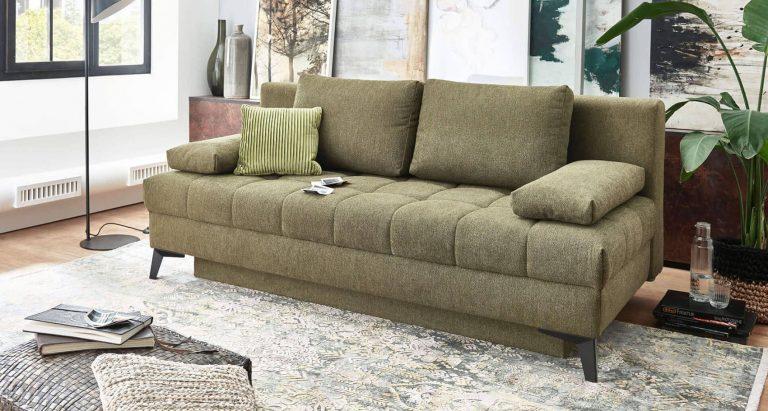 Grüne Couch