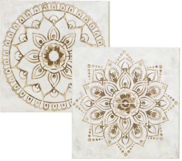 Mandala Wandkunst