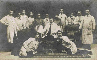 Mitarbeiter Schulze 1913