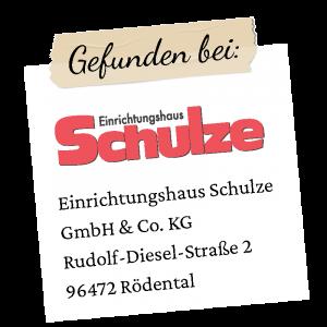 Schulze Logo mit Adresse Rödental