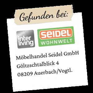 Seidel Logo mit Adresse Auerbach