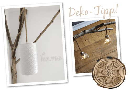 Deko-Tipp-Holz