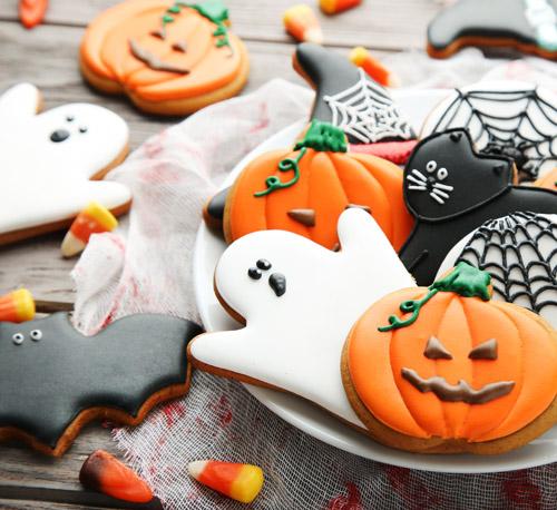 kreative Halloween Plätzchen